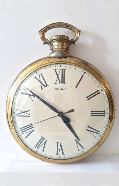 Surreal Large Pocket Watch Wall Clock X008
